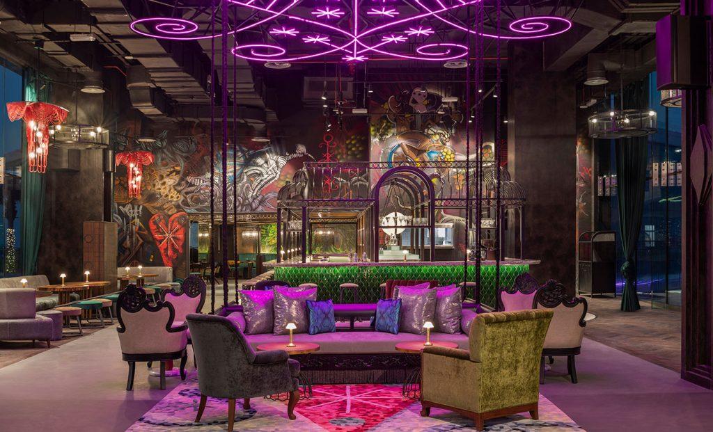 Sobe W Palm Ladies Night Dubai